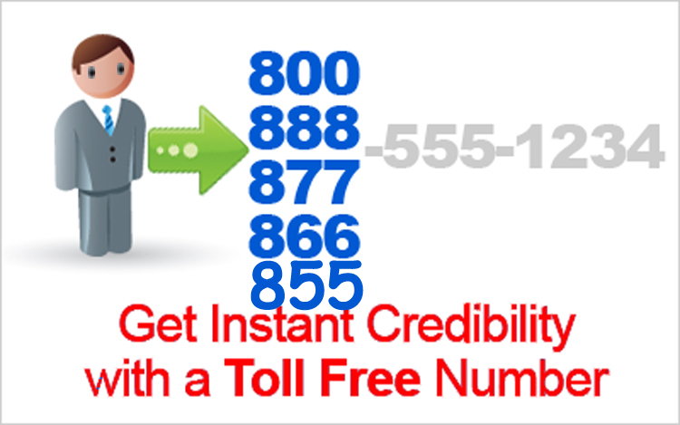 The ways to contact us here at 800 toll free number